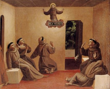 Apparition Of St Francis At Arles 1429