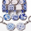 Keychain - Chinese blue and white