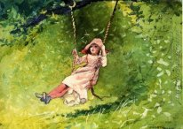 Girl on a Swing