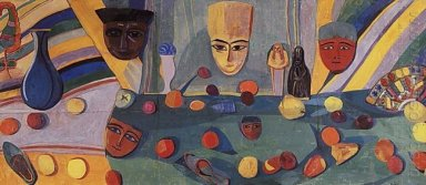 Big Eastern Still Life 1915