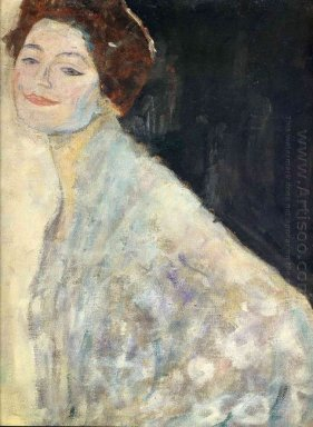 Portrait Of A Lady In White Unfinished 1918