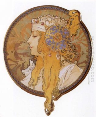 byzantine head the blonde 1897
