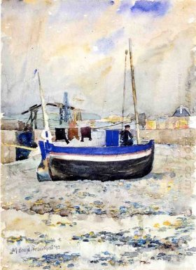 Low Tide Afternoon Treport 1892