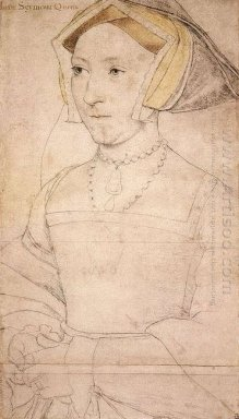 Portrait Of Jane Seymour 1537