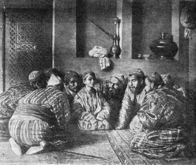 Bacha And His Fans 1868