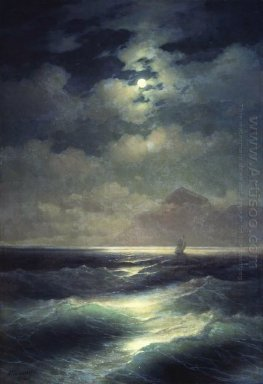 Sea View By Moonlight 1878
