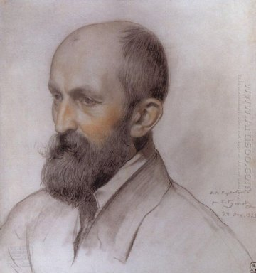 Portrait Of D Kardovsky 1921