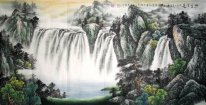 Moutain and water - Xishui - Chinese Painting