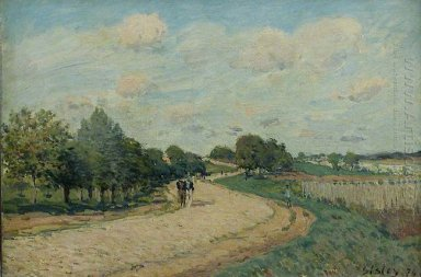 the route to mantes 1874