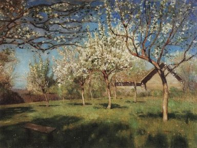 Apple Trees In Blossom 1896 2
