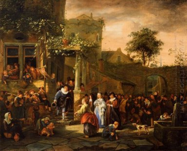 A Village Wedding 1653