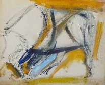 Abstraction (Standing Bull)