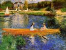The Seine At Asnieres The Skiff 1879