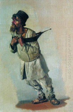Burlak Who Hold Hands On The Strap 1866