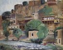 Banks Of The River Zangu Near Yerevan 1930