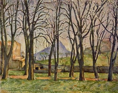 Chestnut Trees At The Jas De Bouffan 1887