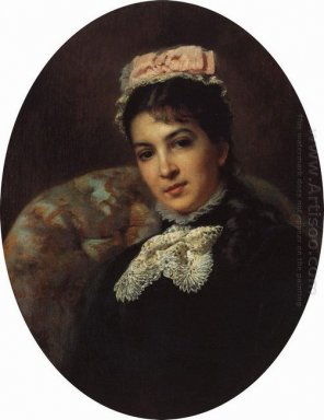 Portrait Of Margarita Savina