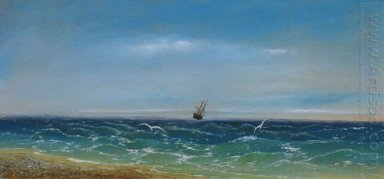 Sailing In The Sea 1884