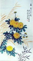 Chrysanthemum - Chines Malerei