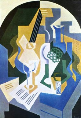Still Life With Fruit Bowl And Mandolin 1919