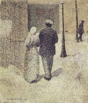 Couple in the street