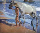 Washing The Horse 1909