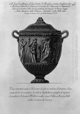 Urn Vase With Bacchae And Divinity