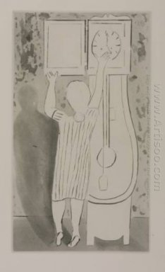 Woman And Clock 1994