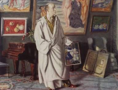 Portrait Of F F Notgaft Collector 1918