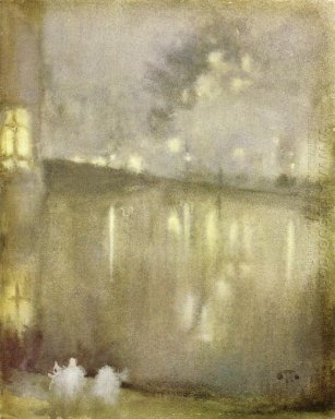 Nocturne Grey And Gold Canal 1884