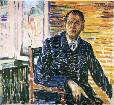Self Portrait At Professor Jacobson S Hospital 1909