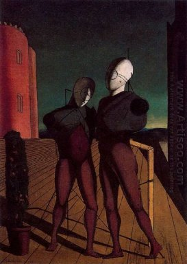The Duo The Models Of The Red Tower 1915