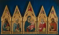 Virgin and Child with Saints (Boston Polyptych)