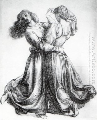 The Bower Meadow Study Study Of Dancing Girls 1872
