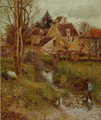 the brook at osny 1883