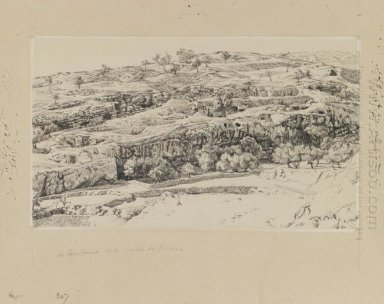 The Tombs In The Valley Of Hinnom 1889
