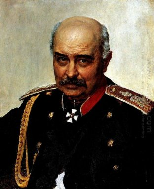 Portrait Of General And Statesman Mikhail Ivanovich Dragomirov 1