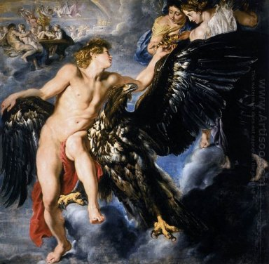 The Abduction of Ganymede 1611-12