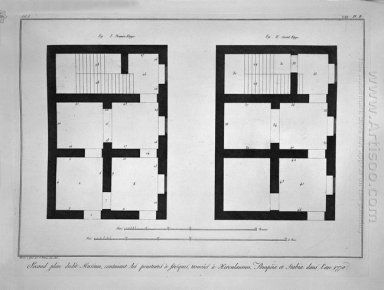 Plan Of The First And Second Floor Of That Museum