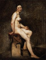 Seated Nude Mademoiselle Rose 1824