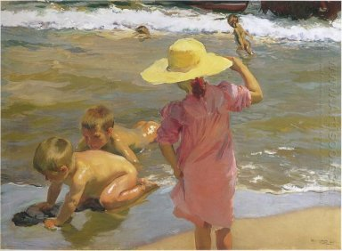 Children On The Seashore 1903