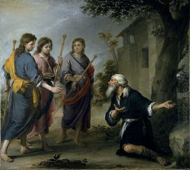 Abraham Receiving The Three Angels 1667