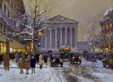 Rue Royale Madeleine Winter