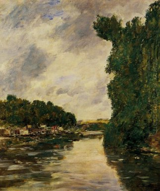 River Near Abbeville 1894