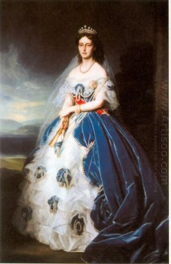 Portrait Of The Queen Olga Of W Rttemberg