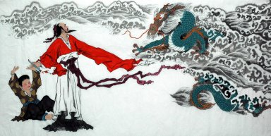 Gaoshi, Dragon - la pintura china