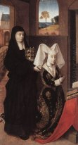 Isabella Of Portugal With St. Elizabeth