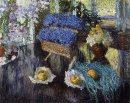 Still Life Of Flowers And Fruit 1904