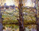 Orchard In Bloom With Poplars 1889