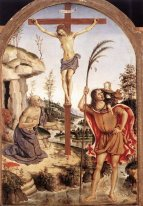 The Crucifixion with Sts. Jerome and Christopher